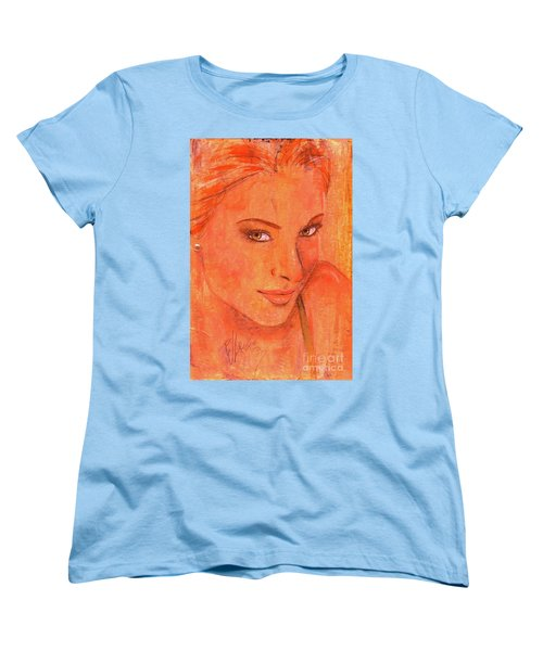Women's T-Shirt (Standard Cut) featuring the painting Sunday by P J Lewis