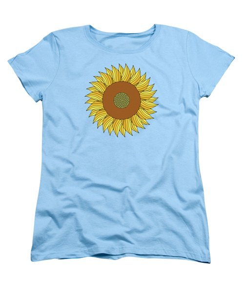 Sunny Day Women's T-Shirt (Standard Cut) by Absentis Designs