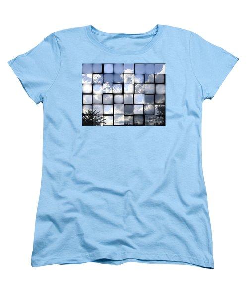 Sunny Sky Women's T-Shirt (Standard Cut) by Christina Verdgeline