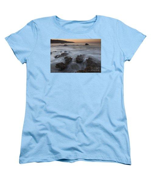 Women's T-Shirt (Standard Cut) featuring the photograph Sunrise At Laguna Beach II by Keith Kapple