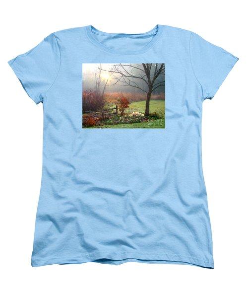 Sunrise Women's T-Shirt (Standard Cut) by Betsy Zimmerli