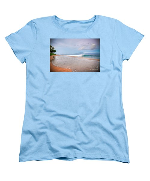 Women's T-Shirt (Standard Cut) featuring the photograph Sunrise Break by Kelly Wade