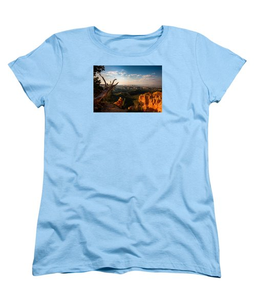 Women's T-Shirt (Standard Cut) featuring the photograph Sunset Bryce by Rebecca Hiatt