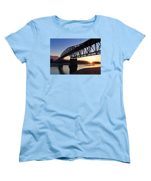 Fraser River, Bc  Women's T-Shirt (Standard Cut) by Heather Vopni