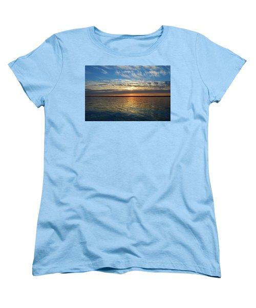 Sunset Dream  Women's T-Shirt (Standard Cut) by Lyle Crump