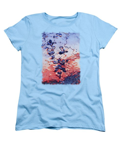 Sunset Flakes Women's T-Shirt (Standard Cut) by Sami Tiainen