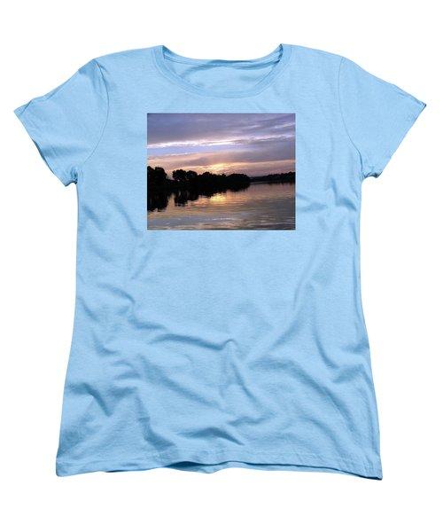 Sunset On The Snake Women's T-Shirt (Standard Cut)