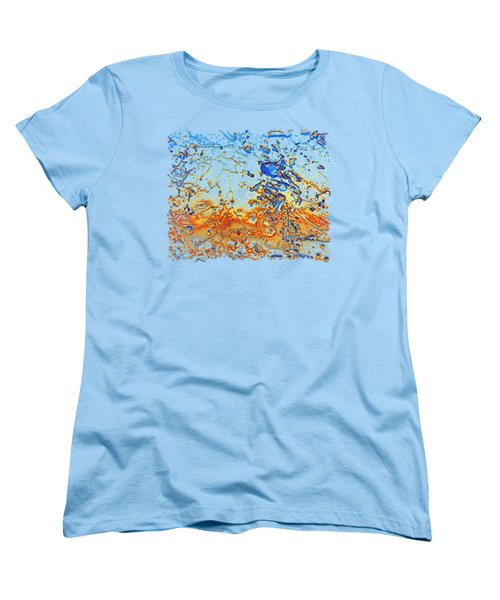 Sunset Walk Women's T-Shirt (Standard Cut) by Sami Tiainen