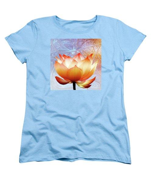 Sunshine Lotus Women's T-Shirt (Standard Cut) by Jacky Gerritsen