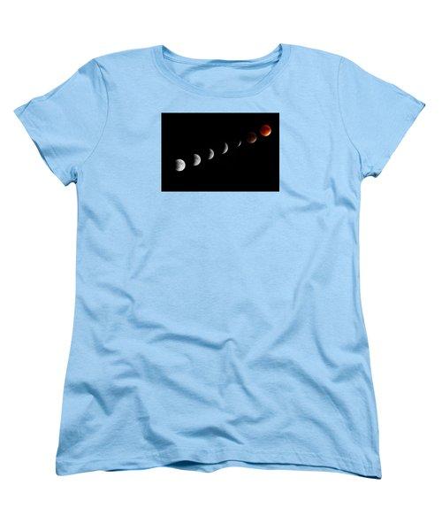 Super Moon Lunar Eclipse Women's T-Shirt (Standard Cut)