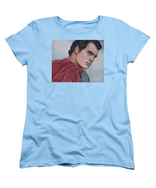 Superman Women's T-Shirt (Standard Cut)
