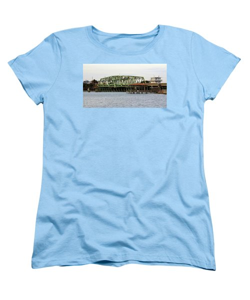 Surf City Swing Bridge Women's T-Shirt (Standard Cut)