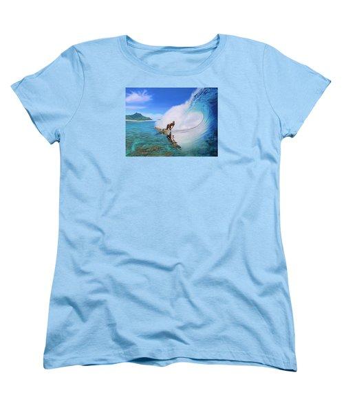 Surfing Dan Women's T-Shirt (Standard Cut)