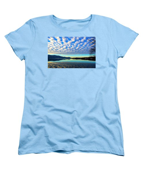 Surreal Sunrise Women's T-Shirt (Standard Cut) by The American Shutterbug Society