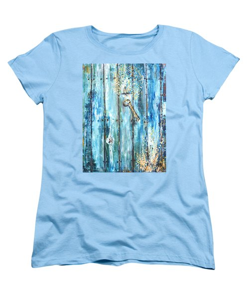 Surviving Time Women's T-Shirt (Standard Cut) by Evelina Popilian