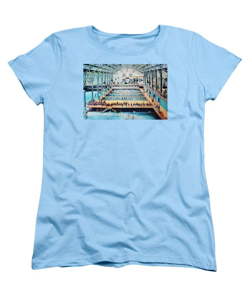 Sutro Baths At The Cliff House Women's T-Shirt (Standard Cut) by Natalie Ortiz