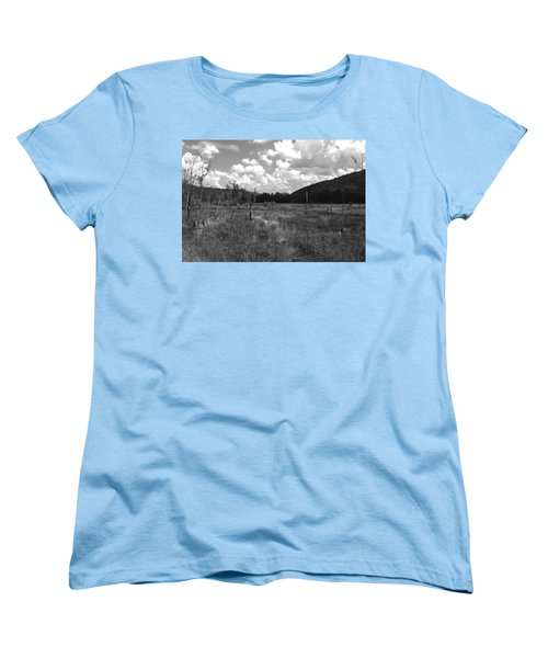 Women's T-Shirt (Standard Cut) featuring the photograph Swampoem by Curtis J Neeley Jr