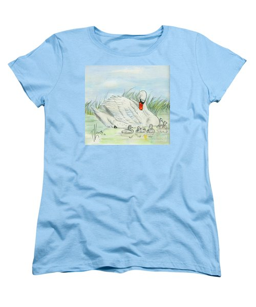 Swan Song Women's T-Shirt (Standard Cut) by P J Lewis