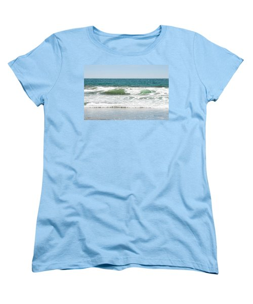 Swell Women's T-Shirt (Standard Cut) by Donna Blackhall