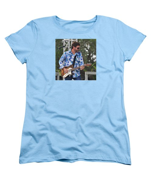 Tab Benoit And 1972 Fender Telecaster Women's T-Shirt (Standard Cut)