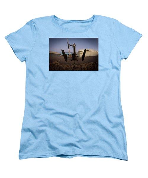 Women's T-Shirt (Standard Cut) featuring the photograph Tailblade by Paul Job