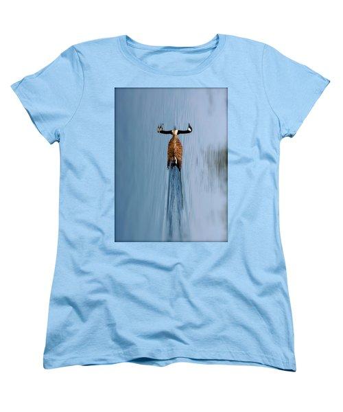 Take A Second Gander Women's T-Shirt (Standard Cut) by Sue Stefanowicz