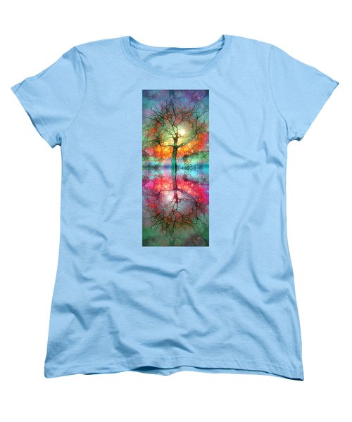 Women's T-Shirt (Standard Cut) featuring the digital art Take The Light This Life Has To Offer by Tara Turner