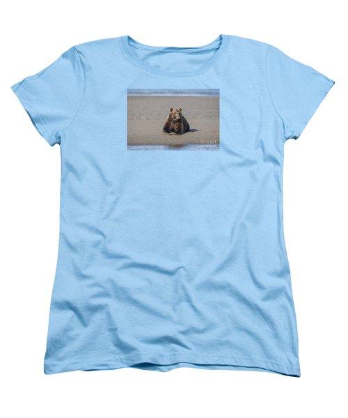 Women's T-Shirt (Standard Cut) featuring the photograph Taking A Break by Sandra Bronstein