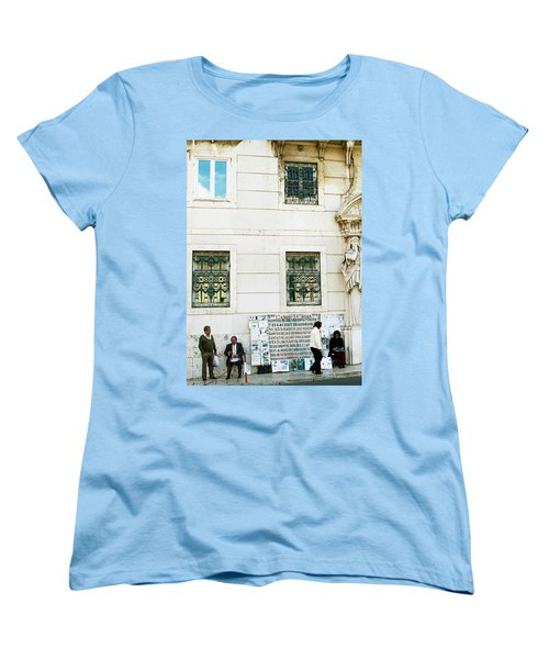 Taking It To The Streets Women's T-Shirt (Standard Cut) by Lorraine Devon Wilke