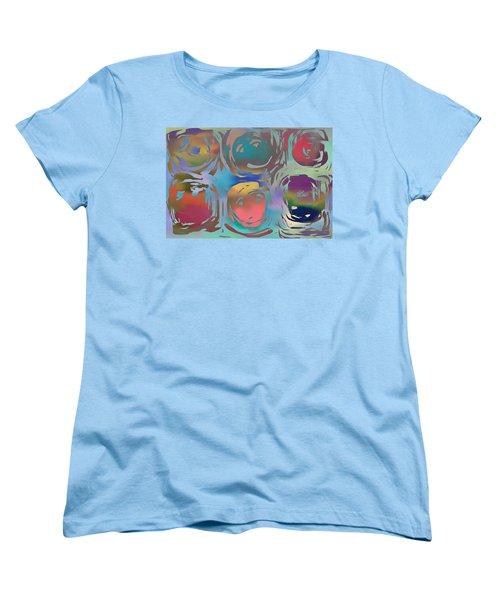 Women's T-Shirt (Standard Cut) featuring the photograph Talking Heads  by Danica Radman