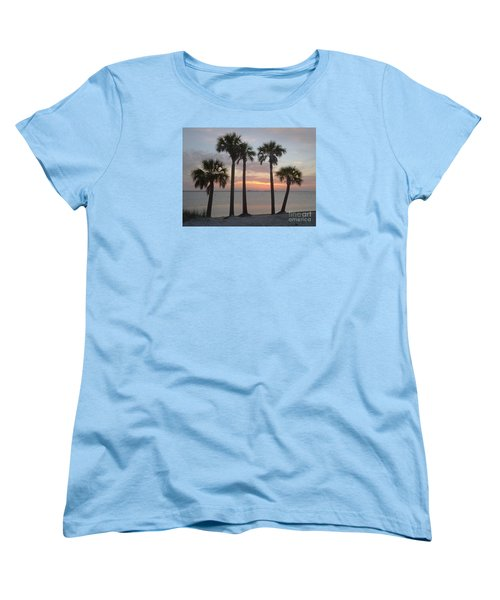 Tampa Bay Sunset Women's T-Shirt (Standard Cut) by Gail Kent