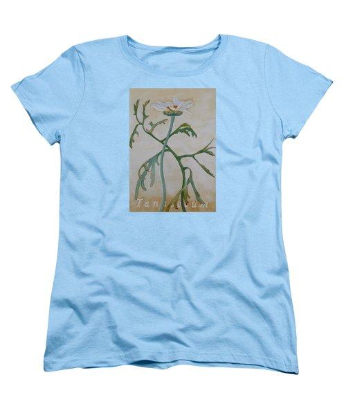Tanacetum Women's T-Shirt (Standard Cut) by Ruth Kamenev