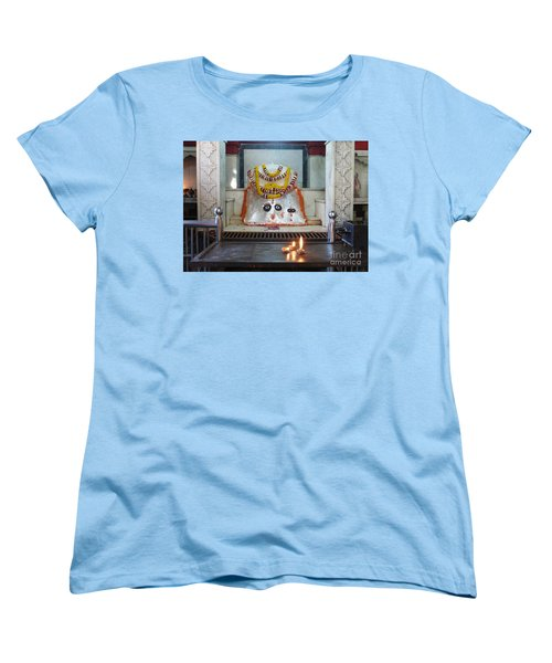 Women's T-Shirt (Standard Cut) featuring the photograph Tantric by Jean luc Comperat
