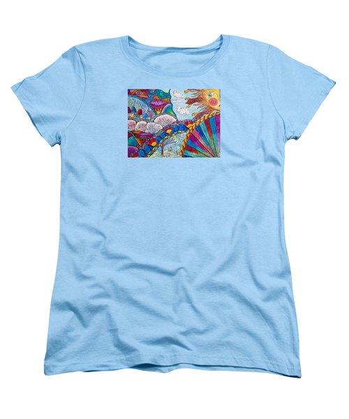 Tapestry Of Joy Women's T-Shirt (Standard Cut) by Megan Walsh