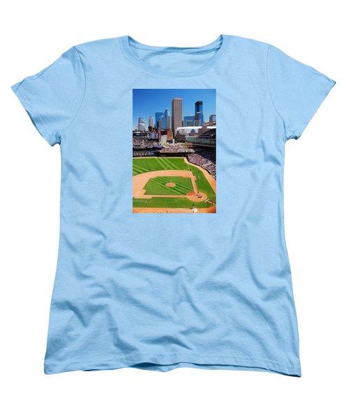 Target Field, Home Of The Twins Women's T-Shirt (Standard Cut)
