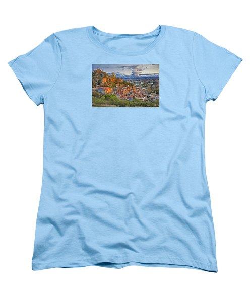 Tblisi Dawn Women's T-Shirt (Standard Cut) by Dennis Cox WorldViews