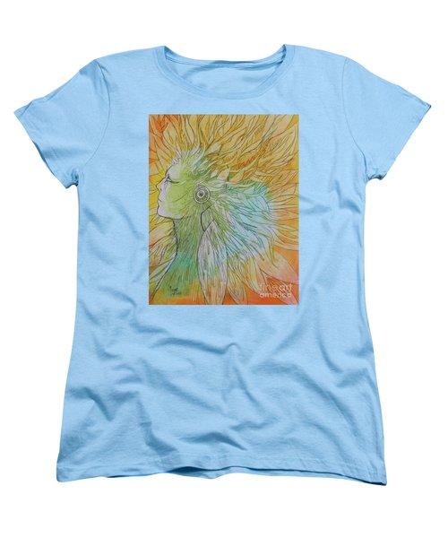 Te-fiti Women's T-Shirt (Standard Cut) by Marat Essex