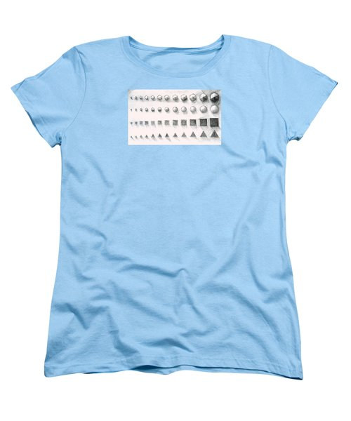 Women's T-Shirt (Standard Cut) featuring the drawing Template by James Lanigan Thompson MFA
