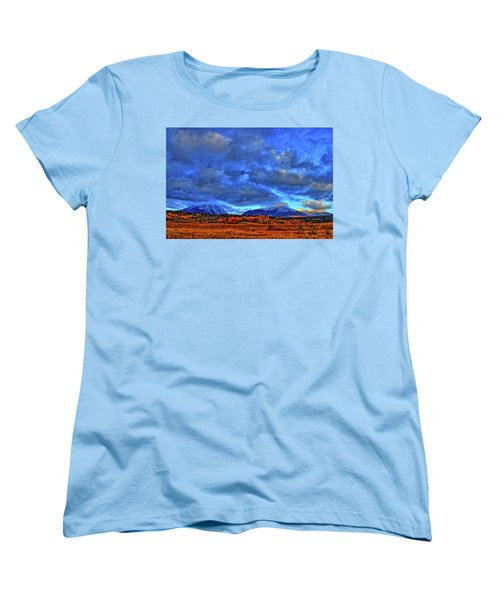 Women's T-Shirt (Standard Cut) featuring the photograph Ten Mile Of Fall Colors by Scott Mahon