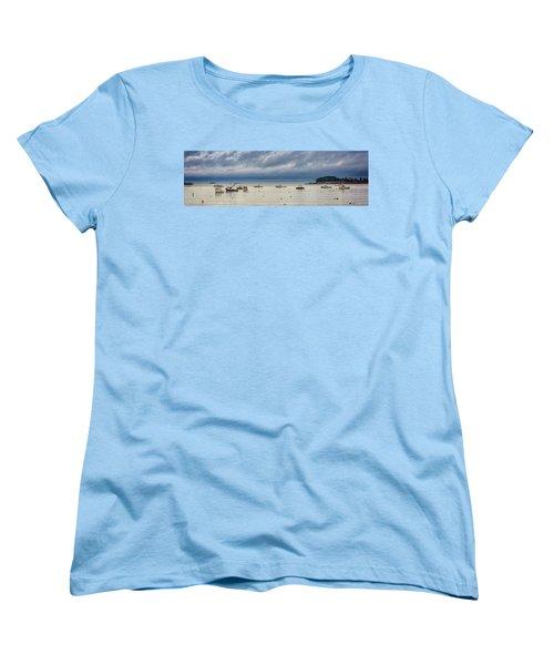 Women's T-Shirt (Standard Cut) featuring the photograph Tenants Harbor by Rick Berk