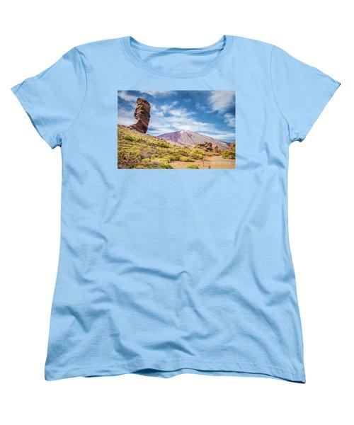 Tenerife Women's T-Shirt (Standard Cut) by JR Photography