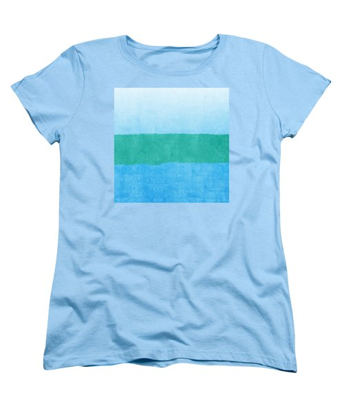 Test Women's T-Shirt (Standard Cut) by Linda Woods