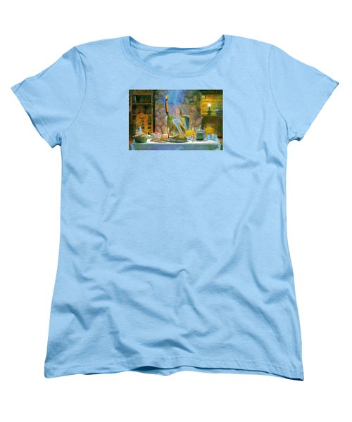 Thanksgiving Women's T-Shirt (Standard Cut) by Wayne Pascall