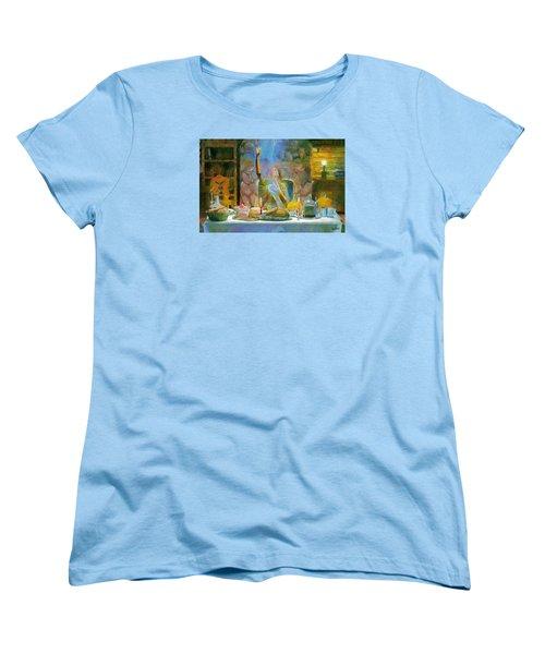 Thanksgiving Women's T-Shirt (Standard Cut)