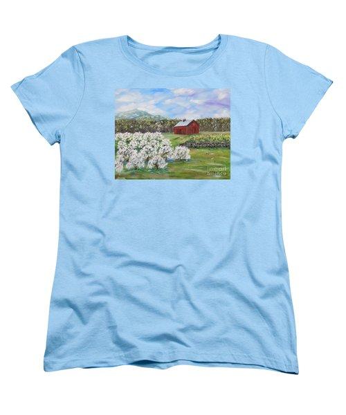 The Apple Farm Women's T-Shirt (Standard Cut) by Stanton Allaben