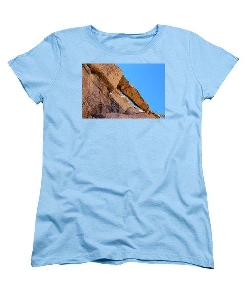 The Arch In Joshua Tree Np Women's T-Shirt (Standard Cut) by Viktor Savchenko