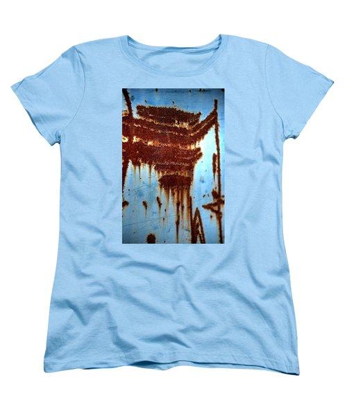 The Art Of Rust Women's T-Shirt (Standard Cut) by Jerry Sodorff