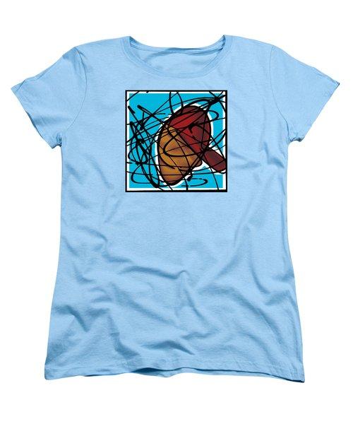 The B-boy As Icon Women's T-Shirt (Standard Cut) by Ismael Cavazos