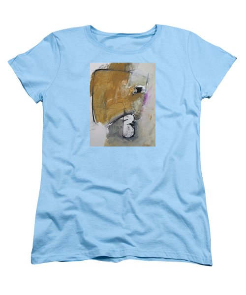 Women's T-Shirt (Standard Cut) featuring the painting The B Story by Cliff Spohn