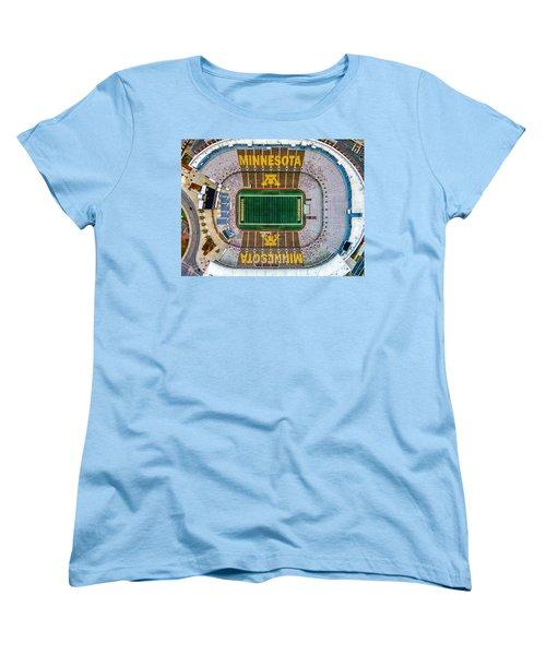 The Bank Women's T-Shirt (Standard Cut) by Mark Goodman